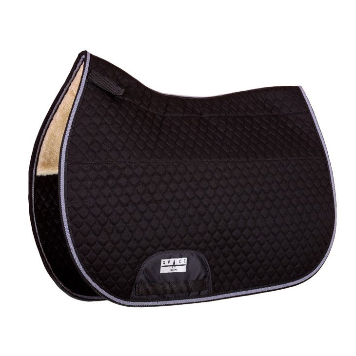 GP Quilted Saddlepad Fur Lined
