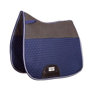 Quilted Dressage Saddlepad Non Slip Both Sides