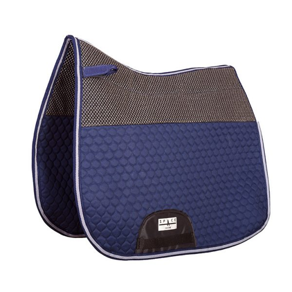 quilted dressage saddlecloth non slip both sides