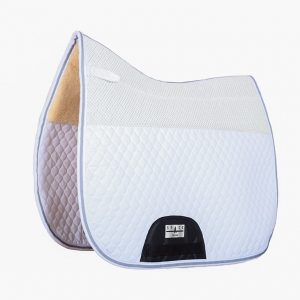 Quilted Dressage Saddlepad Non Slip Fur Combined
