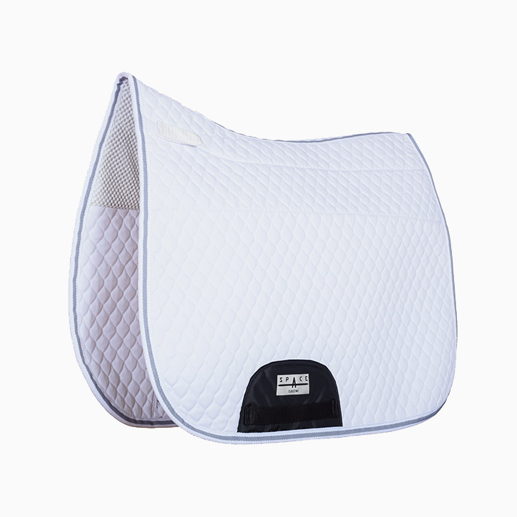 Quilted Dressage Saddlepad Non Slip Lined