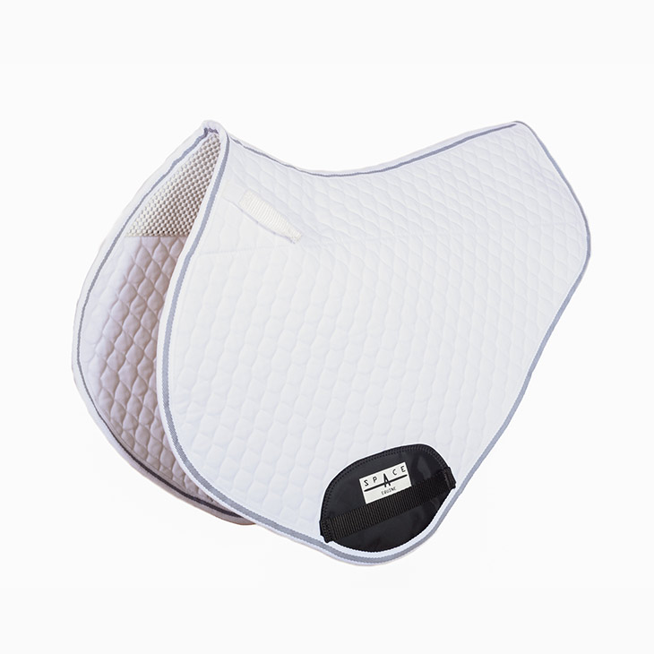 Quilted Jump Saddlepad Non Slip Lined