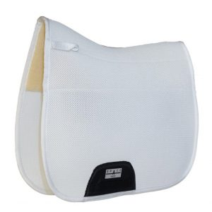 Spacer Mesh Dressage Fur Lined Saddlepad