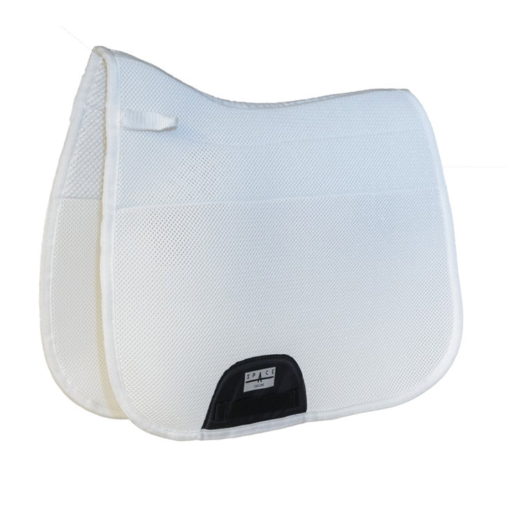 space equine spacer dressage non slip lined saddlecloth