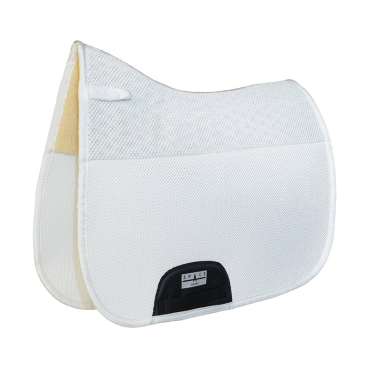 Spacer Mesh Non Slip Fur Combined Dressage Saddlepad