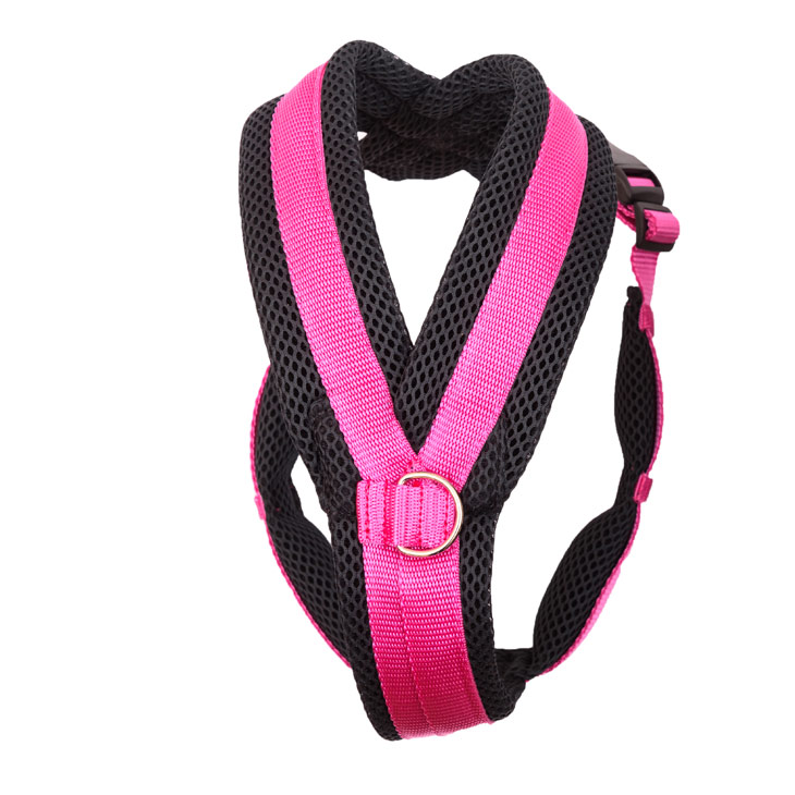 K9 Spacer Harness With Ring Pink