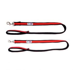 Space K9 1 Metre Fleece Lined Dog Lead