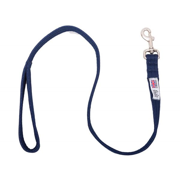 1 Metre Cusioned Web Multi Purpose Lead navy